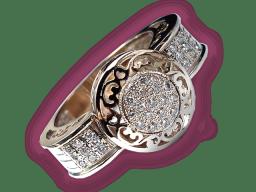 Кольцо женское